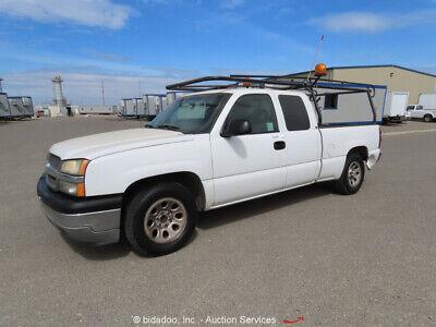 2005 Chevrolet Silverado 1500 LS  2005 Chevrolet Silverado 1500 LS  Extended Cab 2WD Work Truck Vehicle bidadoo