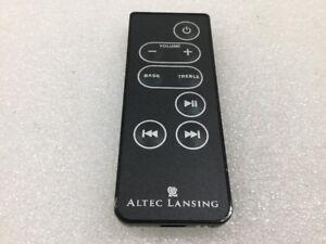 Altec Lansing Remote Control for iM7 Portable Speaker -  Black
