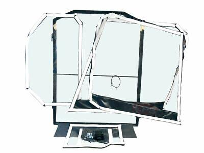Bobcat S740 Skid Steer Vinyl Cab Enclosure With Door - Hook And Loop Model