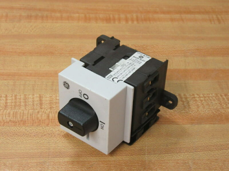 General Electric ML1-650 Manual Motor Controller ML1650