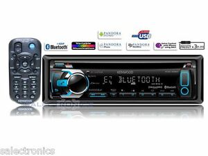 Kenwood KDC-X597 AM/FM/CD+USB+Bluetooth A2DP Car Stereo iPod & Remote KDCX597 RB