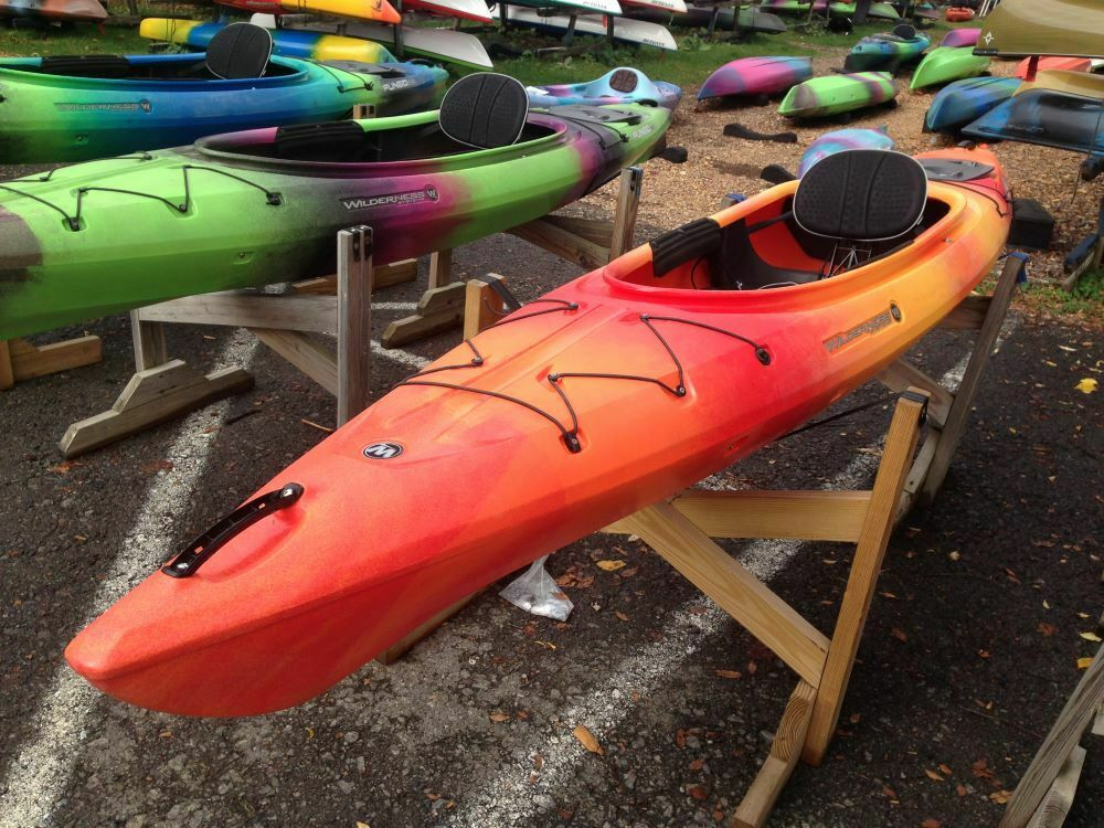 Photo Wilderness Systems Pungo 120 Recreational Kayak - Mango - Used Rental