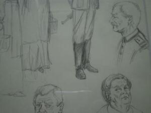 B. Kloezeman Drawings of People Kitchener / Waterloo Kitchener Area image 7