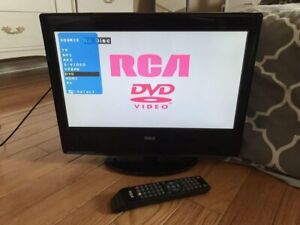 RCA lcd flatscreen with built in DVD player