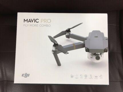 BRAND NEW DJI MAVIC PRO FLY MORE COMBO BUNDLE 4K DRONE