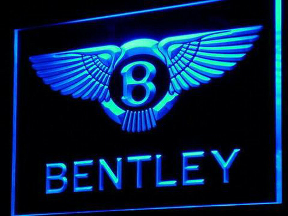 Bentley Racing car Led Neon Sign for Game Room,Office,Bar,Ma
