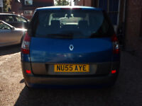 RENAULT SCENIC - (blue) 2005