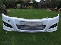 Astra sportive XP front bumper, spoiler, fog lights and grills