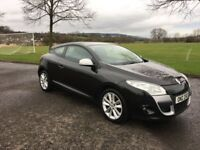 2010 Renault Megane Diesel Coupe, MOT and full service history