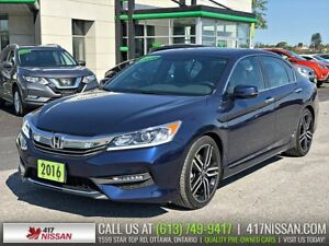 2016 Honda Accord Sport | Moonroof, Htd Seats, Rear Camera