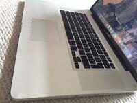 APPLE MACBOOK PRO 15 INTEL CORE i5 2.4GHZ 8GB RAM 500GB HDD WIFI WEBCAM OS X