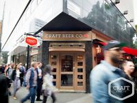 Friendly & Bubbly Full Timer wanted by Covent Garden Pub