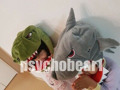 Child Kids Dino Shark Animal Plush Theme Park Halloween Costume Winter Hat 1Ea