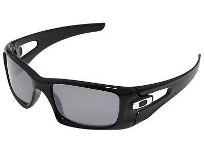 Oakley Crankcase Polarized Sunglasses OO9165-08 Polished Black/Black Iridium for sale  Houston