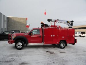 WANTED SERVICE BODY 11' or damaged truck/body