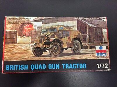 (Esci 1/72 British Quad Gun Tractor  8042)