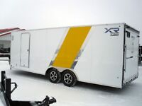 2014 RoyalCargo XR 4 Place Enclosed Snowmobile Trailer