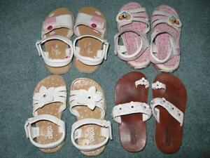 Little Girls Summer Shoes - Sizes 9-10
