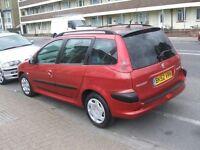 PEUGEOT 206 SW XT (red) 2002