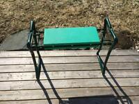 Folding Garden Bench and Kneeler
