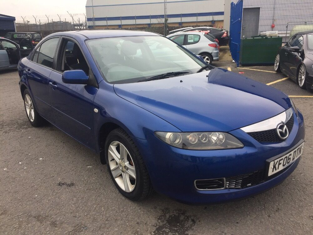 mazda 6 ts2 blue 2006 in cardiff gumtree. Black Bedroom Furniture Sets. Home Design Ideas