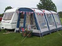 LUNAR FREELANDER EB 2002 limited edition caravan plus Awning fully loaded and ready for summer