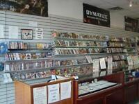 ** LARGE SELECTION OF VIDEO GAMES IN STOCK **