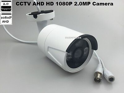 CCTV 1/3 SONY AHD Full HD 1080P 2.0MP  IR-Cut Waterproof Outdoor  IR AHD Camera