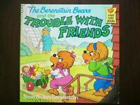 BOOK - The Berenstain Bears and the TROUBLE WITH FRIENDS