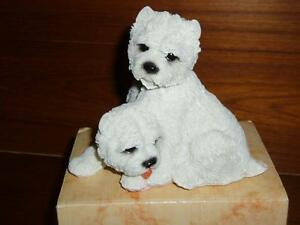 Gorgeous Highland Terrier and Cocker Spaniel Sculptures