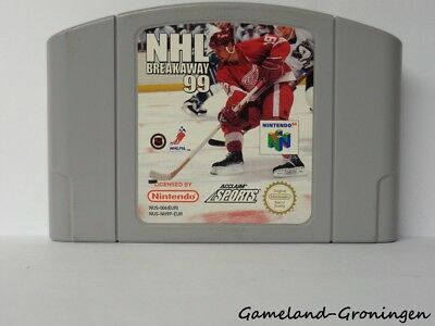 Nintendo 64 / N64 Game: NHL Breakaway 99 [PAL] (EUR)