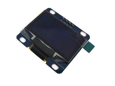 Hq 1.3 12864 Oled Graphic Display Module I2c Iic Lcd - Color Blue