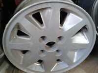 Pair of Ford Escort Gt  87-89 Wheels 14x7