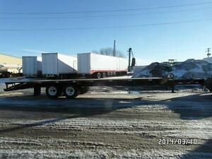 1998 NORBERT PINTAL HITCH TR WITH 24' DECK AT www.knullent.com Edmonton Area image 2
