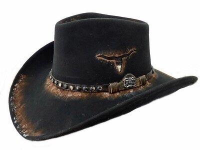 Dallas Hats Cowboyhut Fort Worth Wollfilz Gr. S - XL