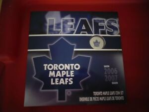2006-2007 Toronto Maple Leafs Coin Set Featuring The Coloured