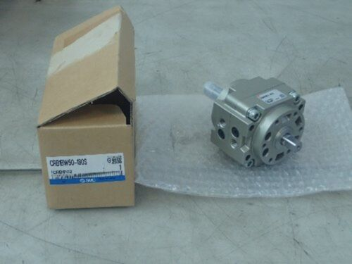 SMC CRB1BW50-180S PNEUMATIC ROTARY ACTUATOR (NEW IN BOX)