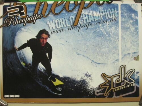 Rheopaipo Bodyboard 200? Damian King promotional poster Exce