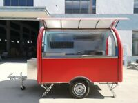 catering van food trailer food kiosk catering pitch Suitable for 2 people