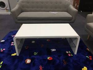 Brand New & High Gloss Coffee Table Black/White (J715) Clayton South Kingston Area Preview