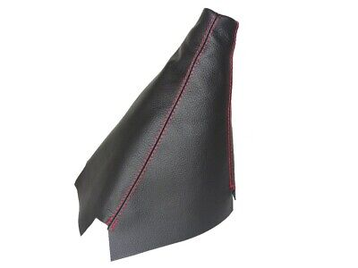 Shift Boot For Honda CR-V 2002-2006 Leather Red Stitching