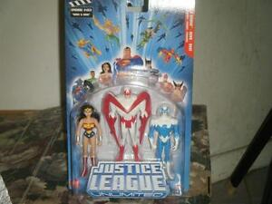 DC JUSTICE LEAGUE UNLIMITED 3 PACK