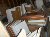 Cabinet Doors only for sale REDUCED TO CLEAR