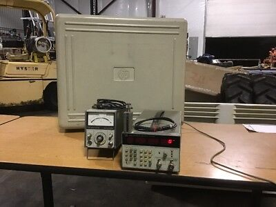 Hp 5343a Microwave Frequency Counter W435a Power Meter W8481a Power Sensor