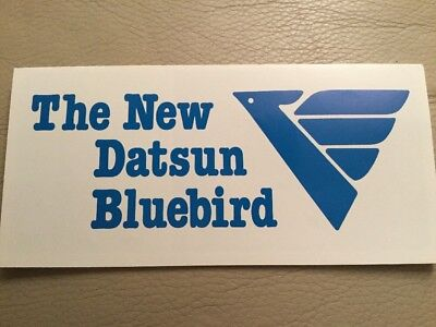 Datsun Bluebird Car Brochure - c1980 Small Version