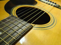 Guitar Lessons for all levels