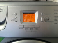 Silver BEKO 7KG 1400 spin washing machine. Good condition, Delivery