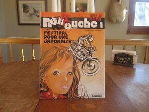 Vintage  bande dessinée Nanouche  année 1981 et autres POSTE