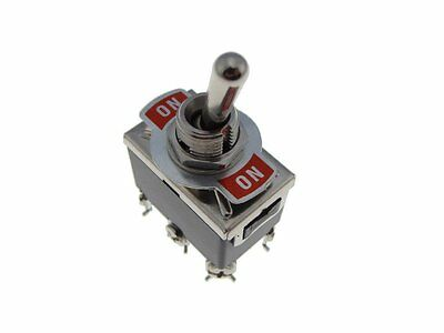 Hq C522b Dpdt 15a250v On-on Panel Mount Toggle Switch