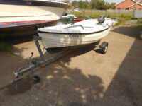 Orkney Spinner - 13ft - Tohatsu Outboard - Trailer - Quality Boat & Great Fun